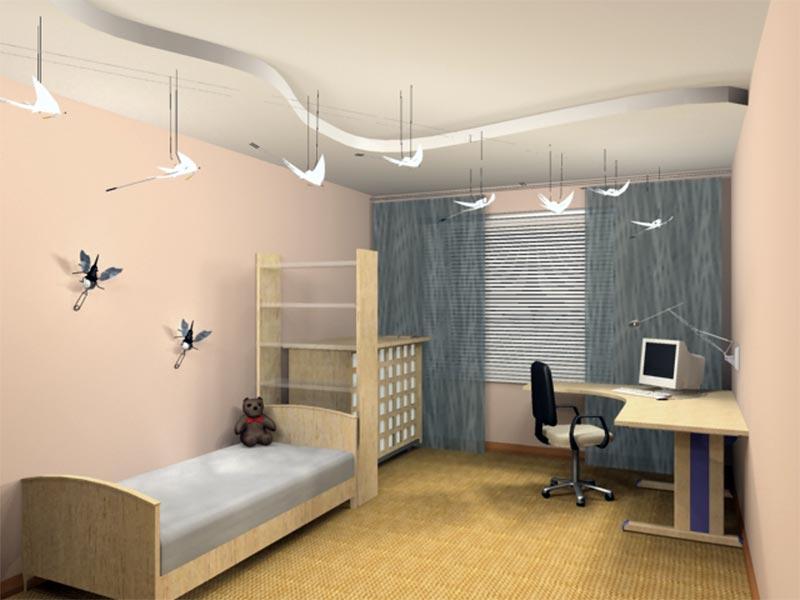 Дизайн проекта детской комнаты