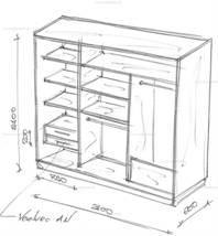 Шкафы своими руками чертежи и
