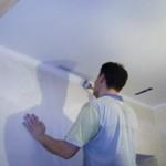 Современные двухуровневые потолки из гкл