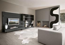 Дизайн гостиной: необычный интерьер