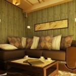 На фото: обычный дизайн гостиной