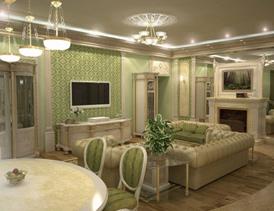 Дизайн интерьера гостиной на фотографии