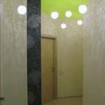 Потолок, стены и пол в прихожей