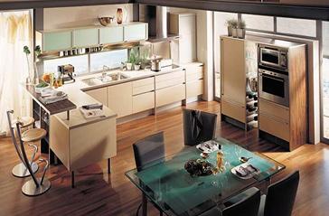 Лучший дизайн кухни-столовой