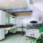 Дизайн потолков в ванной