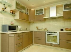 Дизайн кухни в угловом стиле