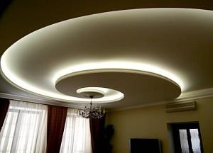 Подсветка потолка Дюралайт
