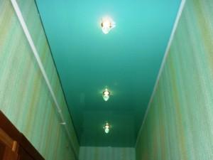 Подвесные потолки в коридоре