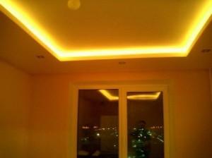 Неоновая подсветка потолка своими руками
