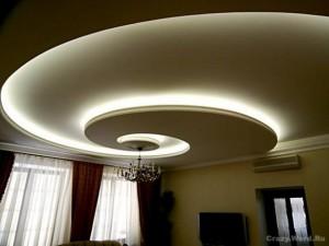 Дизайн потолков из гипсокартона фотогалерея